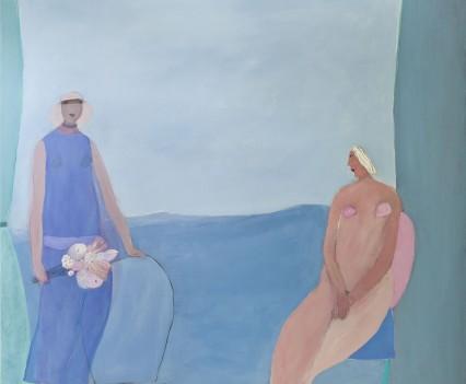 Reproducción fotográfica de la obra pictórica de Joy Laville para Elena Talavera