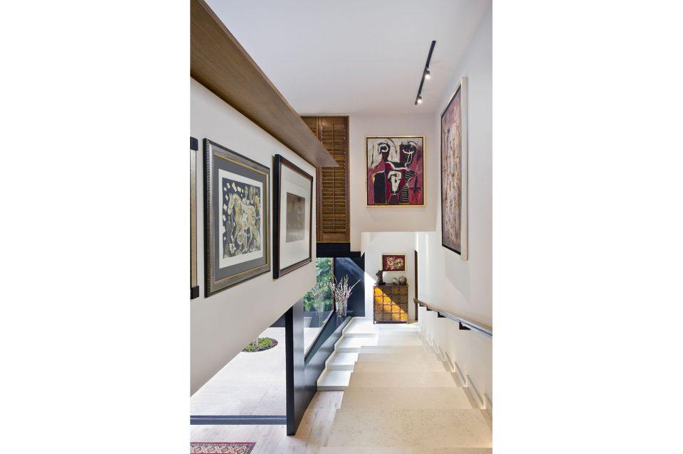 foto proyecto de interiorismo virreyes II para elena talavera 2016 arquitectura arte y escaleras